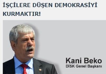 """""""Demokrasiyi kurmak için birleşelim""""."""