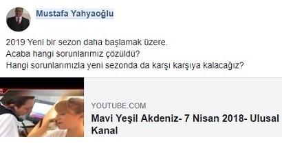YENİ BİR SEZON BAŞLAMAK ÜZERE.