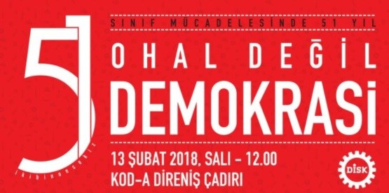 OHAL DEĞİL DEMOKRASİ