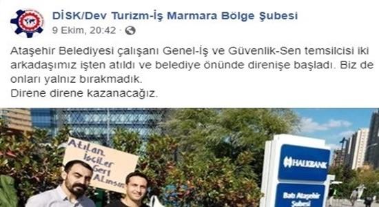 MARMARA BÖLGE ŞUBEMİZ İŞÇİNİN YANINDA.